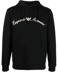 Emporio Armani - ロゴ パーカー - Lyst