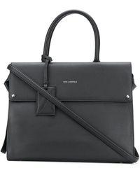 Karl Lagerfeld Сумка-тоут K/ikon - Черный