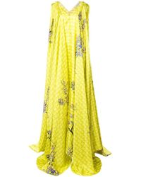 Vionnet - Draped Blossom Gown - Lyst