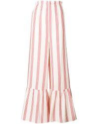 Vilshenko - Flared Striped Trousers - Lyst