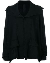 Rundholz - Wide Buttoned Cardigan - Lyst