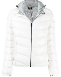 Colmar Lacquered-effect Winter Down Jacket - White