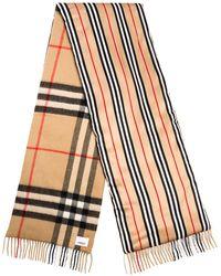 Burberry Écharpe à carreaux vintage - Multicolore
