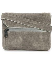 AS2OV Flap shoulder bag - Gris