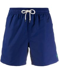 Polo Ralph Lauren Short de bain à patch logo - Bleu