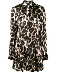 Philipp Plein Блузка С Леопардовым Принтом - Черный