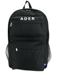 ADER error Large Logo Backpack - Black