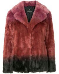 Unreal Fur Flaming Lips Jacket - Pink