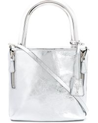 SAVAS - - Lucchetto Shoulder Bag - Women - Calf Leather/metal (other) - One Size - Lyst