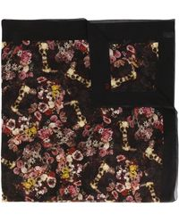 Dior Homme - Kaleidoscope Floral Scarf - Lyst