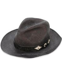 HTC Hollywood Trading Company - Woven Hat - Lyst