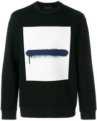 Diesel Black Gold - Sweatshirt mit Graffiti-Print - Lyst