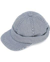 Beton Cire Casquette Hat - Blue