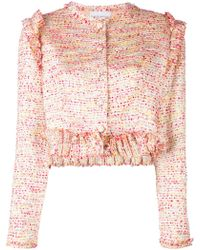 Daizy Shely Textured Jacket - Pink