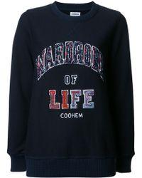Coohem - 'fancy' Sweatshirt - Lyst