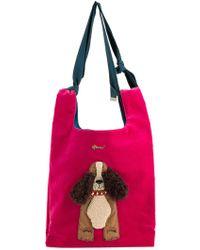 MUVEIL   Dog Embellished Shoulder Bag   Lyst