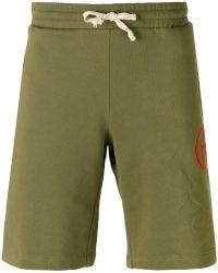 Gosha Rubchinskiy - - Embroidered Logo Shorts - Men - Cotton - S - Lyst