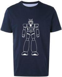 LC23 - Robot Print T-shirt - Lyst