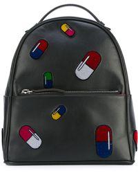 Les Petits Joueurs Pill Backpack - Black