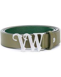 Vivienne Westwood Red Label - Logo Buckle Belt - Lyst