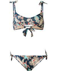 Emmanuela Swimwear - Jacquard Print Bikini - Lyst