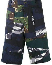 KENZO Cargo Shorts - Blue