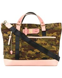 Master Piece Camouflage Tote - Green