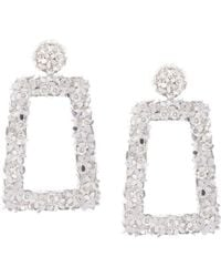 Sachin & Babi - Floral Frame Earrings - Lyst