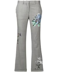 Each x Other - Floral Print Tailored Trousers - Lyst