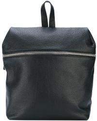 Eleventy Zip Detail Backpack - Black