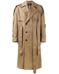 Yang Li - Belted Trench Coat - Lyst