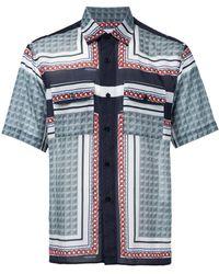 Yoshio Kubo - Printed Short-sleeve Shirt - Lyst