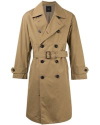 Unused - Trench Coat - Lyst