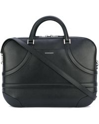 Alexander McQueen Harness Briefcase - Black