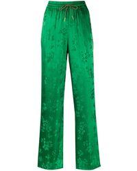 Essentiel Antwerp Drawstring Floral Pattern Pants - Green
