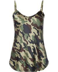 Nili Lotan - Camouflage Cami - Lyst