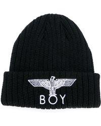 e1b475cfce73 BOY London - Eagle Knitted Beanie - Lyst