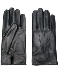 Emporio Armani | Embossed Logo Gloves | Lyst