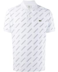 Lacoste L!ive - ロゴ ポロシャツ - Lyst