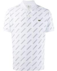 Lacoste L!ive ロゴ ポロシャツ - ホワイト
