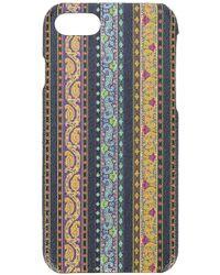 Etro - Striped Iphone 7 Case - Lyst