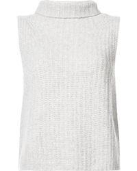 Vince - Roll Neck Knitted Top - Lyst