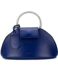CALVIN KLEIN 205W39NYC - Metal Handle Clutch Bag - Lyst