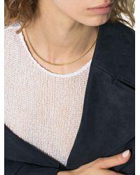 Loren Stewart チェーン ネックレス 14kネックレス - メタリック