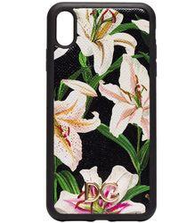 Dolce & Gabbana - Floral Print Iphone Xs Max Case - Lyst