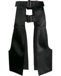 Comme des Garçons アーマースカート - ブラック
