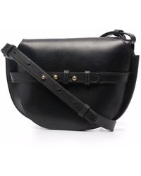 Officine Creative Saddle 05 Crossbody Bag - Black