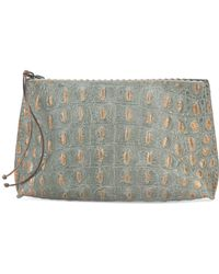 B May - Embossed Make Up Bag - Lyst