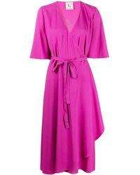 L'Autre Chose ラップ ドレス - ピンク