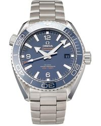 Omega Orologio Pre-owned Seamaster Planet Ocean Co-Axial Master Chronometer - Blu